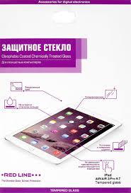 <b>Red</b> Line <b>защитное стекло</b> для iPad Air/Air 2/Pro 9.7 — купить в ...