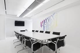 attractive modern minimalist office design with ceiling lights and nice desk also armchairs amazing attractive office design