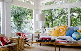 image of casual living room decorating ideas alongside modern corner floor lamp with loveseat nearby red casual living room