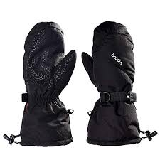 Men Women <b>Windproof Ski</b> Gloves - Adult <b>Waterproof</b> Outdoor ...