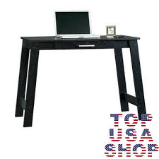 study writing table student laptop desk black home office workstation furniture black home office laptop desk