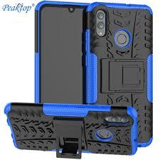 For <b>Huawei Honor</b> 10 Lite Cover ShockProof <b>TPU PC</b> Phone Stand ...