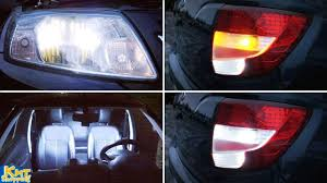 LADA Granta - замена всех ламп на светодиодные. <b>LED</b> ...