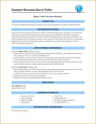 cv for bank jobs   jumbocover infosample resume bank teller bank teller personal banker objective to