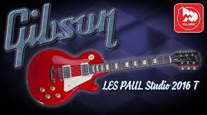 <b>Электрогитара GIBSON LES</b> PAUL Studio 2016 T - YouTube