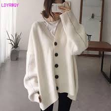 2019 <b>autumn and winter</b> new Korean women's lazy loose <b>large</b> size ...