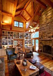 retreat timber frame home traditional