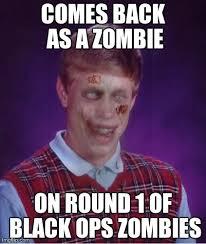 Zombie Bad Luck Brian Meme - Imgflip via Relatably.com