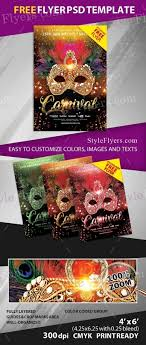 carnival psd flyer template 16945 styleflyers preview preview