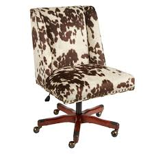 brown draper nailhead office chair with wheels christmas tree office desk