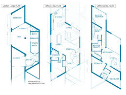 Urban prefab home called HOMB gives modular homes a new twist      View full size HOMB house plans SKYLAB ARCHITECTURE