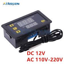 MH1210W 72V 250V <b>10A Digital</b> Thermometer <b>Thermoregulator</b> ...