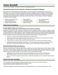 Sr Financial Analyst Resume  finance resume templates  finance