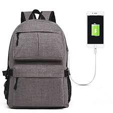 Generic Travel <b>Backpack Male Large Capacity</b> Computer <b>Bag</b> USB ...