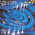 10,000 Lightyears album by Boney M.