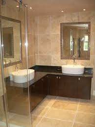 ideas bathroom tile color cream neutral:  bathroom tile ideas along with exceptional wall sconces shade minimalist classic bathroom design with checkered