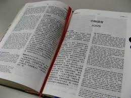 Bible translation work