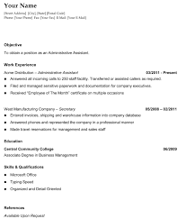 sample chronological resume template com general chronological resume the resume template site job