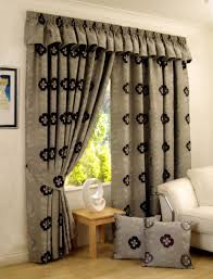 Hidden Tab Curtains Living Room Brown Tab Top Curtain For Country Living Room Wayne