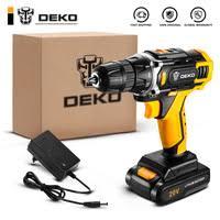 Cordless Drill N Series - <b>DEKO</b> Official Store