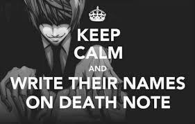 15 Hilarious Death Note Memes - MyAnimeList.net via Relatably.com
