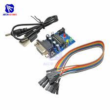 <b>RS232</b> to TTL Converter <b>Module</b> COM <b>DB9 Serial</b> Board MAX232 ...