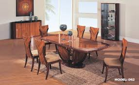 woodveneer 7 pc high quality classic dining room set d52 art deco dining 7