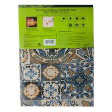 <b>Скатерть ALBA</b> Мозаика син. <b>120х140</b> см (шт.) – купить недорого ...
