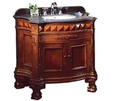 dark granite bathroom vanity