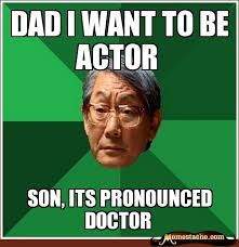 Disapproving Asian Dad on Pinterest | High Expectations, Father ... via Relatably.com