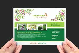 gardening service templates pack by brandpacks a5 gardening service flyer template