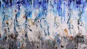 <b>Horse</b> painting: Mystery <b>horses</b> - 80 x 140 cm. <b>Abstract painting</b> by ...