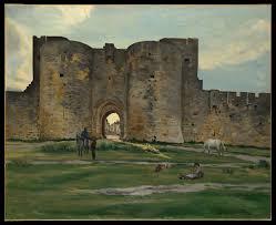 Jean-Frédéric Bazille | Porte de la Reine at Aigues-Mortes | The Met