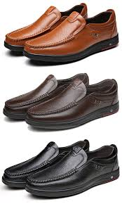 <b>Men</b> Large Size Cow <b>Leather Soft Sole</b> Casual Shoes | Gents shoes ...