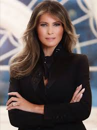 Image result for Why Melania Trump's White House Portrait Veers Off-Message