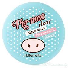 Holika Holika Pig-nose <b>Бальзам</b> для очищения <b>пор</b> (Корея)   25г ...