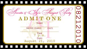 Free Templates For Birthday Invitations | Drevio Invitations Design Free Templates Ticket Birthday Invitations