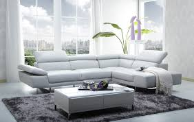 charming interior scheme living room design with white leather l shape sectional sofa including satin nickel contemporary montecarlo dining room italian best italian furniture