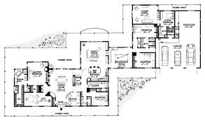 Ideas bathrooms page home plans   attached guest house    First Floor Plan Of Ranch House Plan