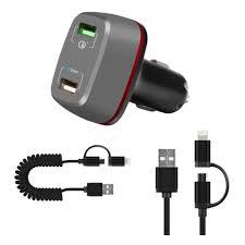 <b>Автомобильное зарядное устройство</b> DF AutoTor-03 5.4A, <b>2xUSB</b> ...