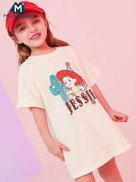 Mini balabalaBaby Girls short sleeve cotton tshirt <b>2019 summer new</b> ...