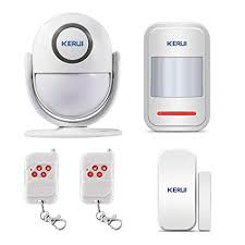 <b>KERUI WP6</b> 2.4GHz WiFi Wireless <b>PIR</b> Burglar Alarm System IOS ...