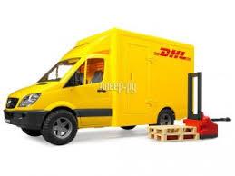 <b>Игрушка Bruder</b> Mercedes-Benz Sprinter <b>фургон DHL</b> с ...