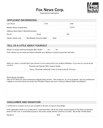wikileaks releases controversial fox news job application form print friendly