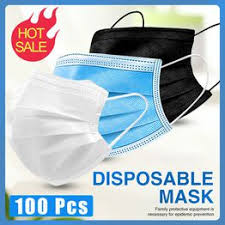 100pcs 3plydisposable Face Mouth Anti Virus Mask ... - Vova