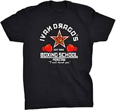 Viper <b>Ivan Dragos Boxing School</b> T-Shirt: Amazon.co.uk: Clothing