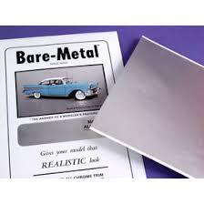 <b>Bare</b> Metal Foil, Matte Aluminum (<b>Set of 2</b>)