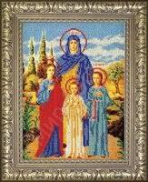 «<b>№</b>33 <b>Рамка</b> для иконы Вера Надежда Любовь 189х259 Арт 829 ...
