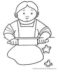 Small Picture Christmas Cookies Coloring Pages Grandmas Christmas Cookies