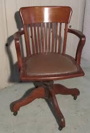 art deco medium oak office desk chair art deco office